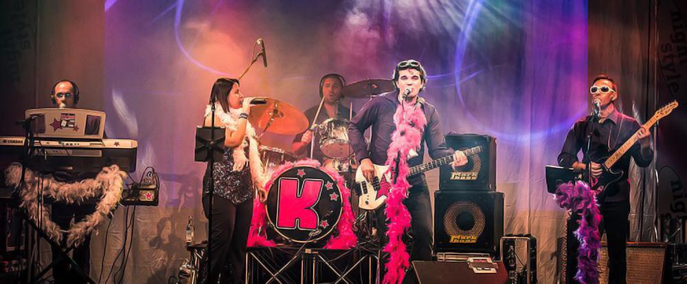 Coverband disco per feste in piazza,discoteche e matrimoni